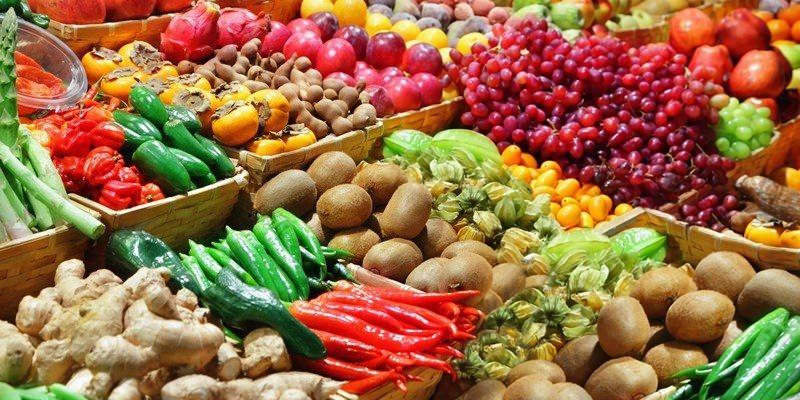 market for fresh produce